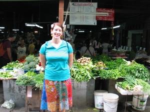 Jenny at the market