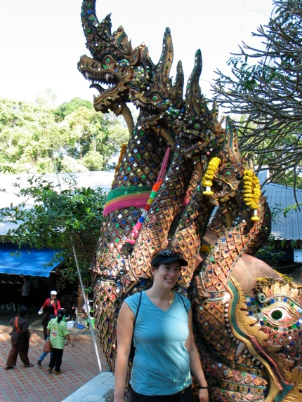 Jenny with Naga