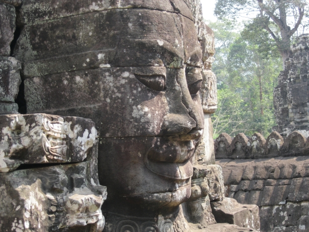 Face at Bayon
