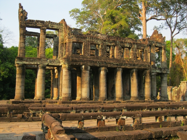 Fire house at Ta Phrom