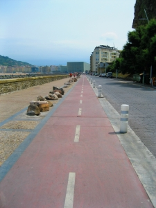 Hello cycletrack for me and my bike!