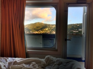 View from Port in St Thomas