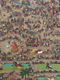 Intricate & beautiful tapestry.
