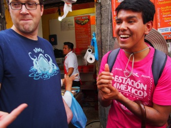 Our tour guide, Miguel, was full of smiles and history