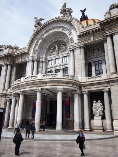 The Pallacio de Bellas Artes, the Palace of Fine Arts