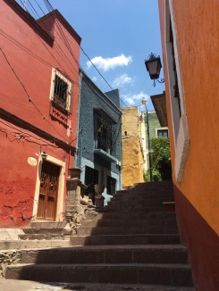 Colorful alleys
