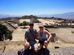 The ruins at Monte Alban